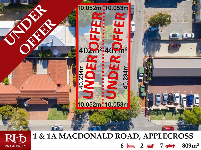 1 & 1A Macdonald Road, Applecross WA 6153