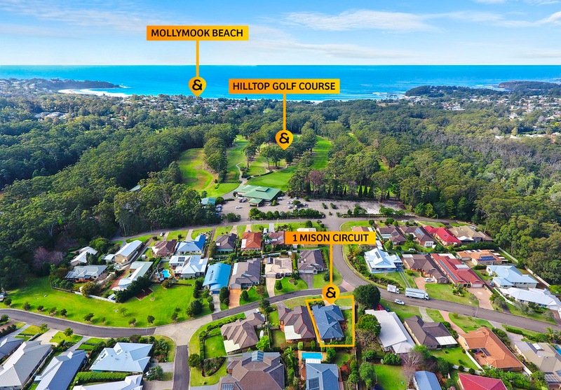 1 Mison Circuit, Mollymook Beach NSW 2539