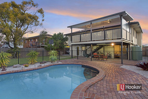 Prime Location + Sparkling in-ground pool + side access + Deck!!