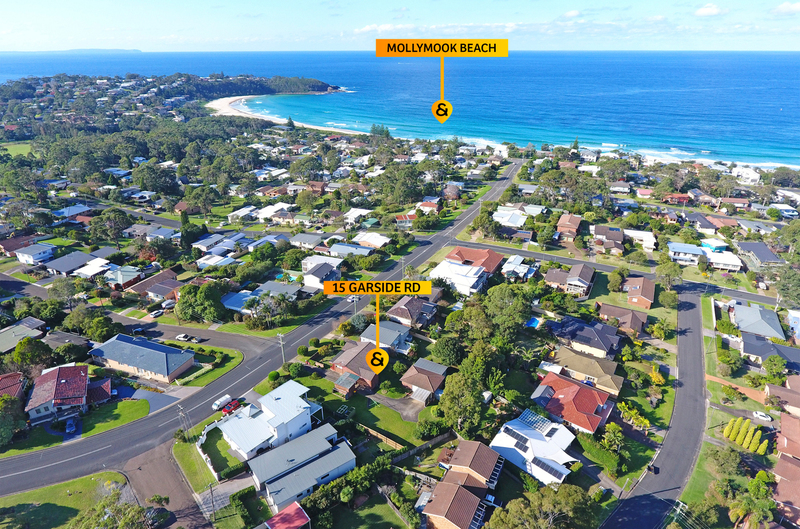 15 Garside Road, Mollymook Beach NSW 2539