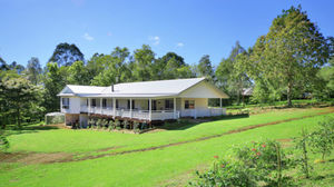 Two homes comfortably separated on a beautiful 2.5 acres.