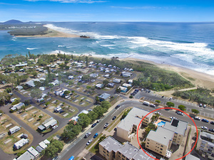 Cotton Tree Beachside unit