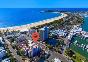 Mooloolaba Beachfront 2-Bed Unit with an Unbelievable Balcony - $295,000