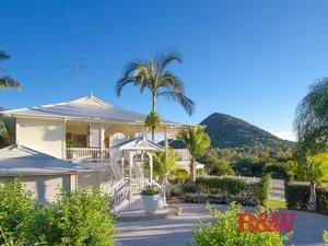 Stunning Home with Mt Cooroy Backdrop