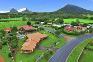 Views of Glass House Mountains