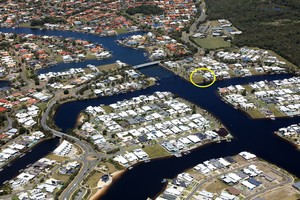 NORTH FACING WATERFRONT IN PELICAN WATERS