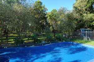 3.5acres at a great location...Dual Living ++ Land...... Inground Swimming Pool ..........Space for a Pony!