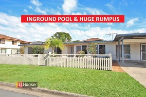 HUGE RUMPUS AND INGROUND POOL