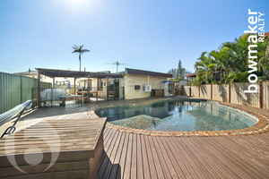 Four beds or Three with a Study and an Inviting Pool!