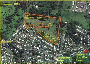 LAND DEVELOPMENT SITE - CURRENT DA FOR 60 LOTS