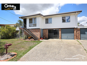 3 bedroom high set family home with extra space downstairs.
