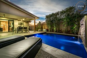 Alfresco Poolside Entertaining and Side Access in Brightwater