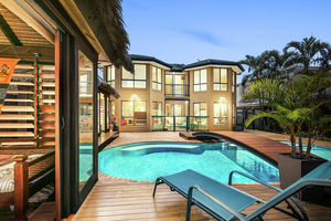 Family Size Waterfront Home Ideal for Entertaining