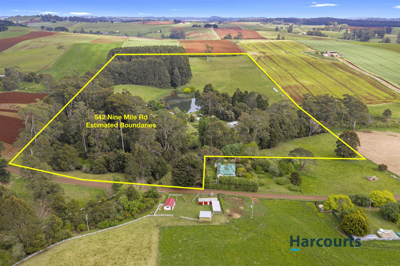 542 Nine Mile Road, West Pine TAS 7316