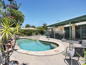 Secluded Outdoor Entertaining Area & Pool