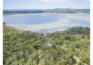 Rare Find - 12 Lakeside Acres With 3 Dwellings And Beach - Lake Cooroibah, QLD