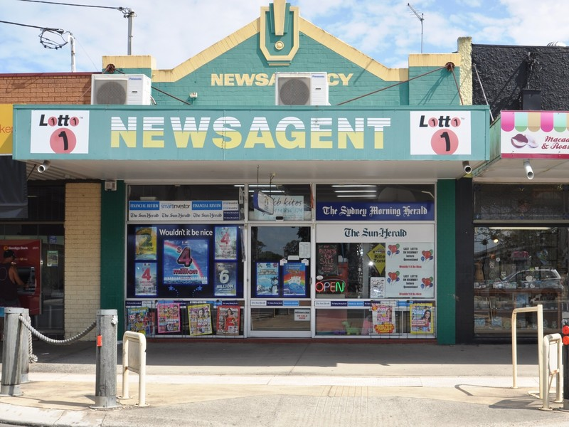 Shop Newsagency/107 River Street, Woodburn NSW 2472