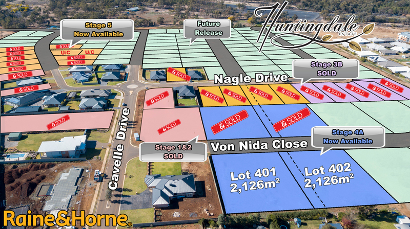 Stage 4A Huntingdale Estate Dubbo NSW 2830