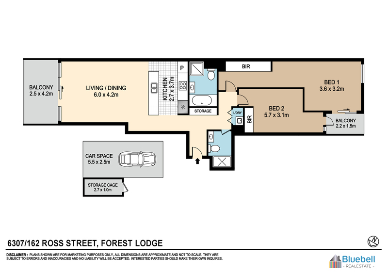 Photo - Unit 6307/162 Ross St Forest Lodge NSW 2037  - Image 13